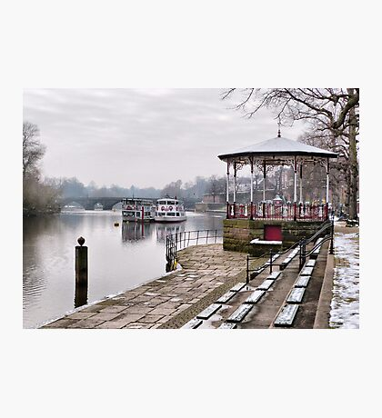The Bandstand -Chester. Photographic Print