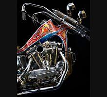 Evel Knievel Harley XLCH Chopper Engine T-Shirt