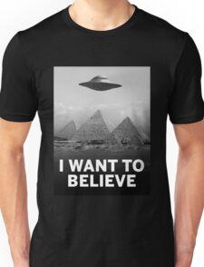 Want2Believe (Giza) Unisex T-Shirt