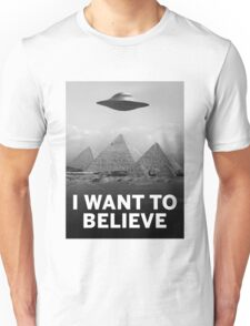 Want2Believe (Giza) Unisex T-Shirt