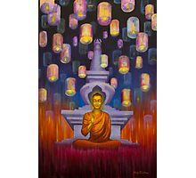 Light of Buddha Photographic Print