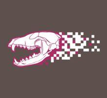 Omnomnom Fox Skull Pink :3 by inkfeather