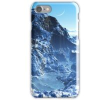 Winter in Mountain Valley iPhone Case/Skin