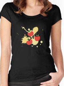 Apple Jack Splat Women's Fitted Scoop T-Shirt