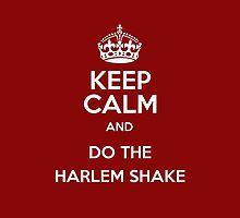 Keep Calm and Do The HARLEM SHAKE iPhone Case by CAsylum