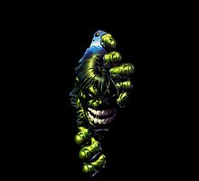 Incredible Hulk iPhone Cover by CAsylum