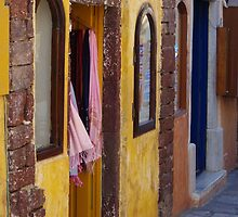 Colourful Shops by Francis Drake