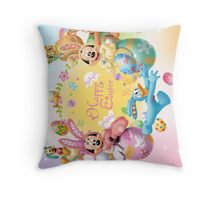 Mickey Mouse and Friends Easter Throw Pillow