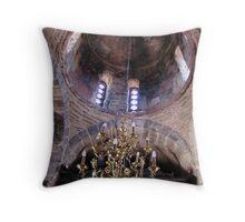 Interior-Myrakephala Church Throw Pillow