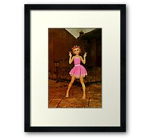 Cute Anime Girl Framed Print
