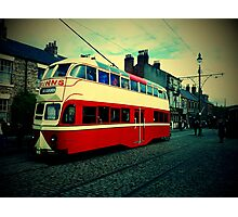 Blackpool Tram 703 Photographic Print