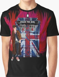 British Time lord Graphic T-Shirt