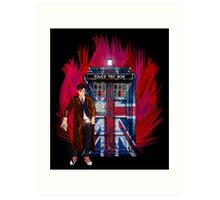 British Time lord Art Print