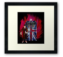 British Time lord Framed Print