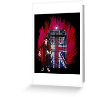 British Time lord Greeting Card