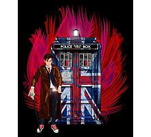 British Time lord Photographic Print