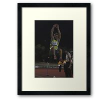 Adelaide Track Classic 2013 - Long Jump 1 Framed Print