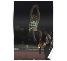 Adelaide Track Classic 2013 - Long Jump 1 Poster
