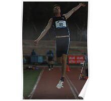 Adelaide Track Classic 2013 - Long Jump 4 Poster