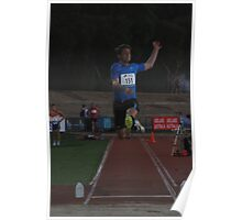 Adelaide Track Classic 2013 - Long Jump 5 Poster