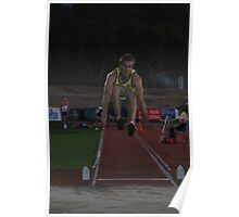 Adelaide Track Classic 2013 - Long Jump 7 Poster