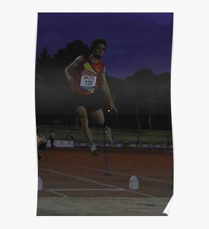 Adelaide Track Classic 2013 - Long Jump 8 Poster