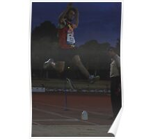 Adelaide Track Classic 2013 - Long Jump 9 Poster