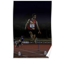 Adelaide Track Classic 2013 - Long Jump 15 Poster