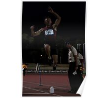 Adelaide Track Classic 2013 - Long Jump 17 Poster