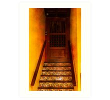 Doorway in Old San Juan Art Print
