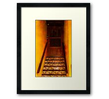 Doorway in Old San Juan Framed Print