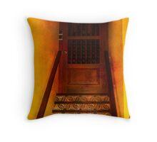 Doorway in Old San Juan Throw Pillow