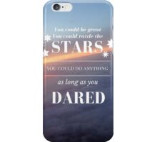 Rattle the Stars- Sarah J Maas, Throne of Glass- Purple Sky iPhone Case/Skin