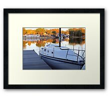 St. Johns River View Framed Print