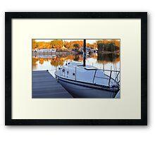 St. Johns River View Framed Print