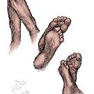 """Feet, 2014""  by SlideRulesYou"