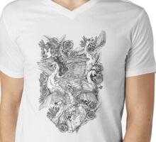 The Six Swans Mens V-Neck T-Shirt