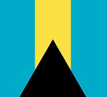 Bahamas Flag by pjwuebker
