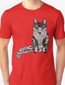 Zentangle Fox T-Shirt