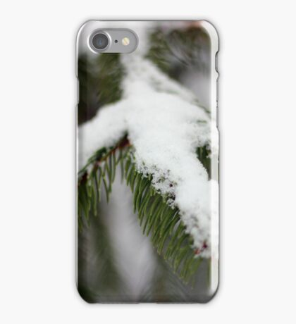 Snow frosted iPhone Case/Skin