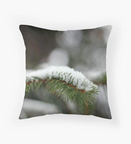 Pine Detail Throw Pillow