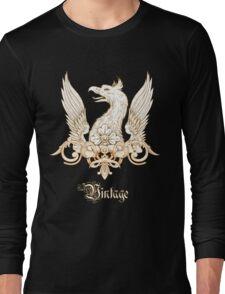 Vintage Heraldry Griffin Crest Long Sleeve T-Shirt