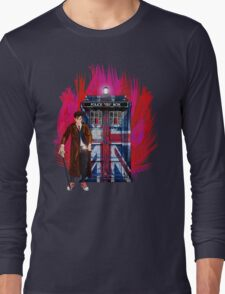 British Time lord Long Sleeve T-Shirt