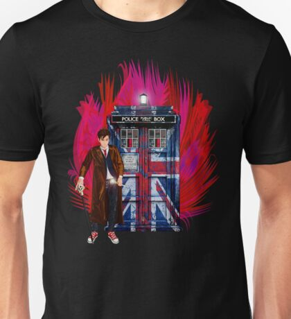 British Time lord Unisex T-Shirt