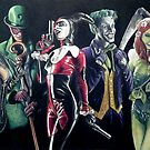 Batman Rogues by Brent Schreiber