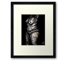 """Soft Parts, 2014"" Framed Print"