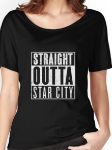 Straight Outta Star City Women's Relaxed Fit T-Shirt