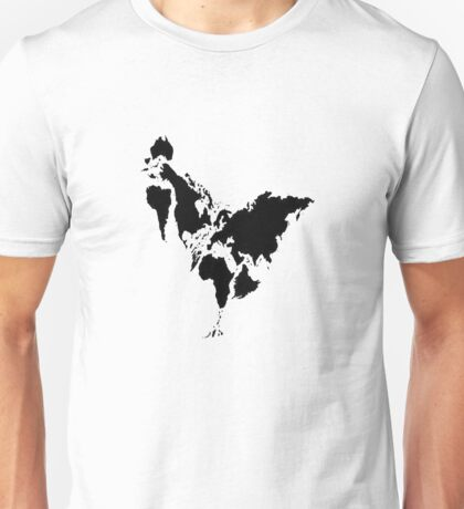 Continent Chicken Unisex T-Shirt