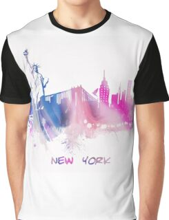 Skyline New York City Graphic T-Shirt