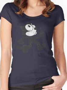Felix The Cat Women's Fitted Scoop T-Shirt